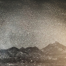 mountain, nicght, screen, 20120, 24 x 34 cm.jpg